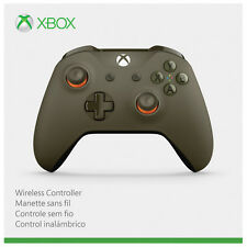 Microsoft Xbox One Bluetooth Wireless Controller - Green / Orange (WL3-00035)