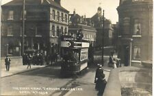 More details for rochester. first tram through rochester 1908 by g.a.morris, rochester.