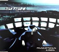 Sash! Feat. Tina Cousins Maxi CD Mysterious Times - Europe (M/M)