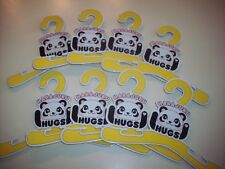 Build A Bear Hangers Set Of 8 Harajuku Panda Bear -Sized Clothing Hangers