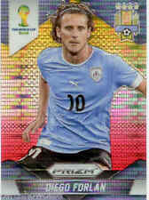 2014 World Cup Prizm Yellow Red Parallel No.192 D.FORLAN (URUGUAY)