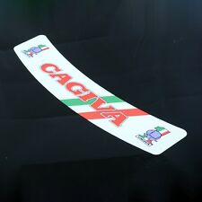 Cagiva Helmet Visor Sunstrip Sticker Motorcycle Italian Bike Vinyl Decal