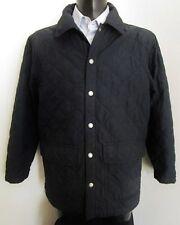 ***NAVIGARE GIUBBINO trapuntato GIACCONE Jacket TG.M foderato impermeabile BLU