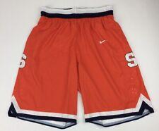 New Nike Men's Large Syracuse Orange Hyperelite Throwback Short Orange 703566