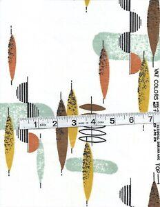 Modern print fabric (vintage)