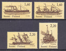Ships, Boats Finnish Stamps