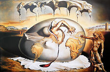 (LAMINATED) SALVADOR DALI - GEOPOLITICUS POSTER (61x91cm) CHILD WATCHING BIRTH O