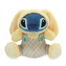 STITCH BUNNY PLUSH 12 IN , YELLOW WITH BUNNY RABBIT EARS...REAL CUTIE DISNEY AUT