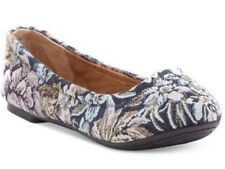 Women's Lucky Brand EMMIE Ballerinas Flats Slip On Floral  Shady Spruce Moroccan
