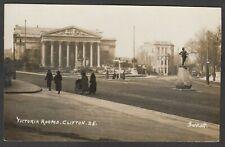Postcard Clifton Bristol Avon Somerset the Victoria Rooms 1927 RP by Garratt