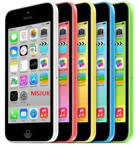 Apple iPhone 5C 8-16-32GB White Blue Yellow Green Pink  Unlocked GRADE B