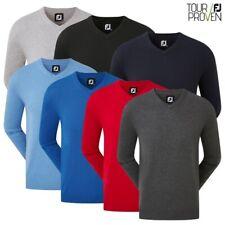 Footjoy Men's Golf Wool Blend V Neck Sweater / Pullover