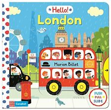 HELLO! LONDON __ PUSH PULL SLIDE ____ BRAND NEW ____ FREEPOST UK