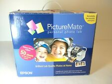 New Epson PictureMate Personal Photo Lab Deluxe Viewer Edition Open Box