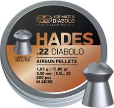 JSB Hades .22 (5.5mm) Airgun Pellets