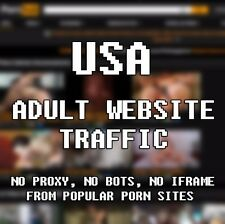 Adult Website Traffic 100% Human (5,000 Real Porn Surfers)