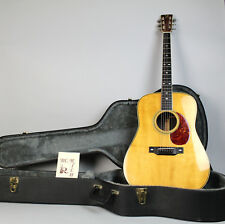 1973 BC Rich B-28 Vintage Acoustic Electric Flattop Guitar Natural w/OHSC