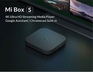 International Version Xiaomi Mi TV Box S - EU/UK/US adapter with FREE SHIPPING