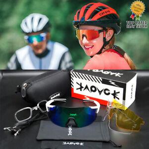 Kapvoe TR90 Outdoor Sports Sunglasses Unisex Myopia Day And Night Goggles