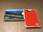 Lot of 2 Vintage AMTRAK Train + Delta Airlines LOGO Playinng Card Deck COMPLETE