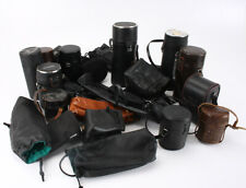 LOT OF 23 LENS CASES/POUCHES, SOLD AS-IS/211455