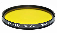 Kood Yellow Filter Made in Japan 58mm
