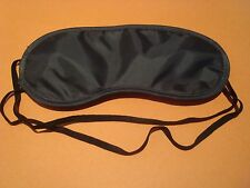 SLEEPING EYE MASK GRAY TRAVEL SHADE FOR RELAXATION SLEEP IN PLASTIC BAG