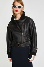 e4657037 Zara Faux Leather Bomber Coats, Jackets & Vests for Women for sale ...