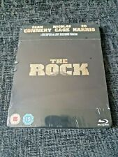 THE ROCK Blu-Ray Play.Com Exclusive Limited Edition Sold-Out Steelbook New &Seal