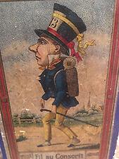 Boite publicitaire Fil Couture vers 1900