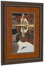 BEV DOOLITTLE 'WSS' The Good Omen Matted & Framed Fine Art Print
