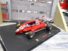 FERRARI F1 126c C2 GP Imola Italien 1982 #27 Villeneuve Hot Wheels Elite 1:43