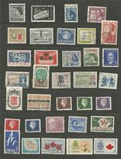 CANADA -  1950-60's  USED SELECTION.