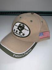 Patton's Patriotas-Memorial General Museo Sombrero Gorra Caqui guerra Inmaculada