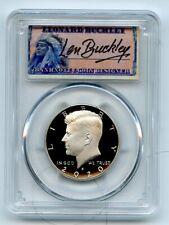 2020 S 50C Kennedy Half Dollar PCGS PR70DCAM FDOI Leonard Buckley