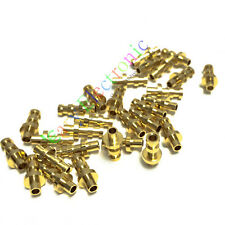 100pc copper plated gold Turret Lug for 2MM Fiberglass Terminal Tag Board Amps