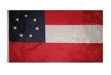 3x5 1st National Stars Bars 7 Embroidered 2 double sided Flag Banner Fast Ship
