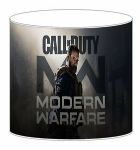 Call Of Duty Lampshade Ideal To Match Bedding Duvets Curtains Cushion Covers