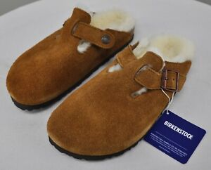 Birkenstock Boston Shearling Clog, ladies 6 men 4