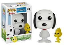 "New Pop TV: Peanuts - Snoopy And Woodstock 3.75"" Funko Vinyl COLLECTIBLE"