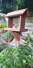 Bird Table Handmade With Recycled Wood