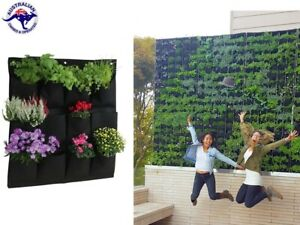 Internet Celebrity Flower Grass Plant Green Cafe Wall Pot Bag Planter Container