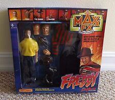NIB 1989 MATCHBOX MAXX FX FREDDY KRUEGER NIGHTMARE ON ELM STREET FIGURE ~SEALED