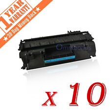 10 PK CF280A 80A Black Laser Toner Cartridge for HP LaserJet Pro 400 M401dn M425