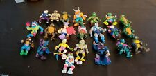 Vintage TMNT Action Figures Teenage Mutant Ninja Turtles - Lot of 22