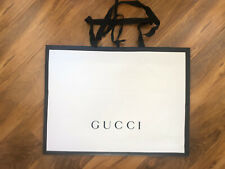 """New ListingGucci Shopping Gift Bag Authentic Empty Super Extra Large 18.75""""L x 14""""H x 3""""W"""