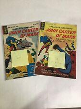 John Carter Of Mars 3 And Second Print Fn/Vf Vf 7.0 8.0 Gold Key