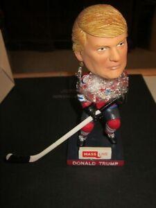 Donald Trump SPRINGFIELD THUNDERBIRDS AHL SGA Bobble Head RARE