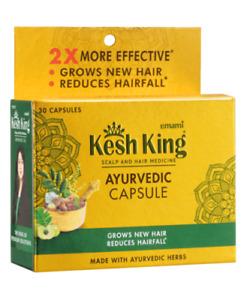 Kesh King Ayurvedic Hair Capsule (30 capsules) prevents premature greying