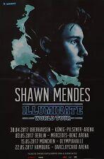 SHAWN MENDES - A3 Poster (42 x 28 cm) - Illuminate Tour Clippings Sammlung NEU